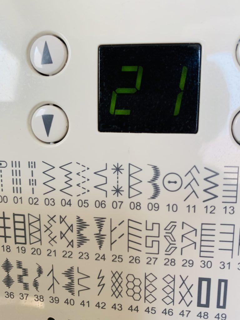 ミシンの縫い方