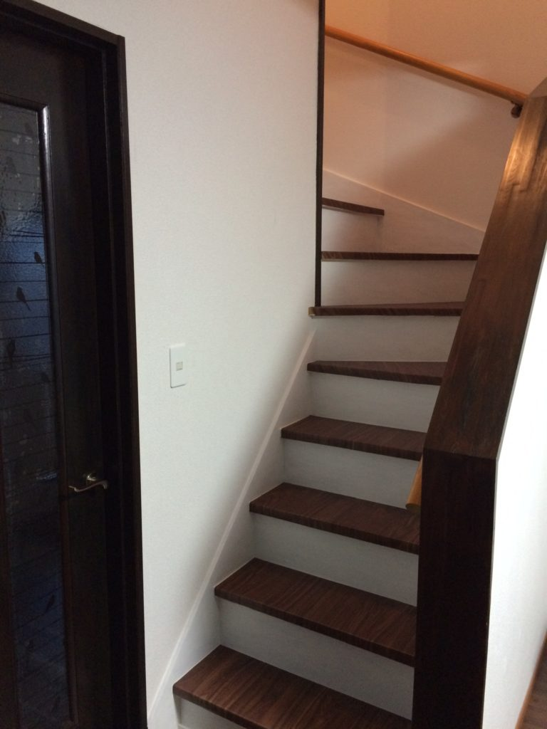 階段リメイク後