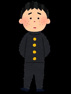 ニキビ少年