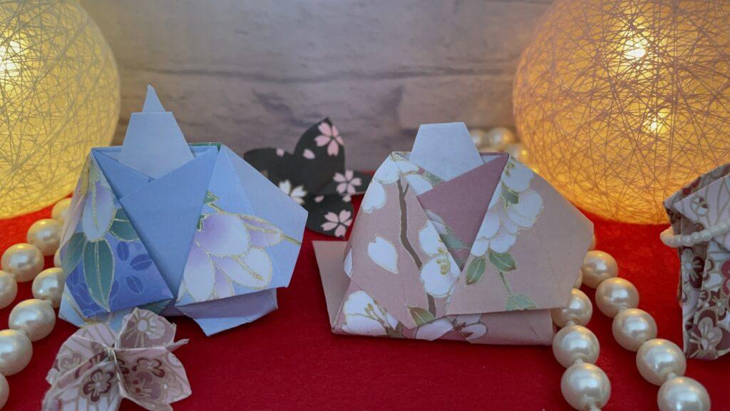 折り紙ひなまつり
