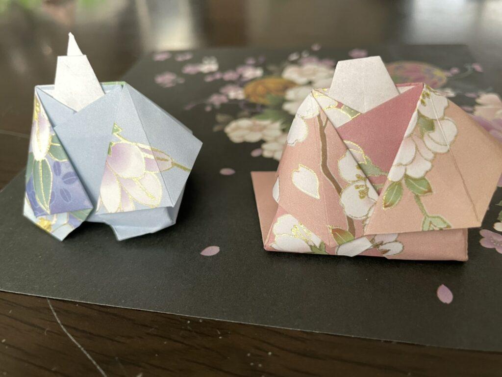 雛人形折り紙